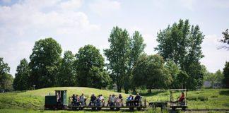 Feldbahnfahrten im Museumspark (Foto: TECHNOSEUM, Andreas Henn)