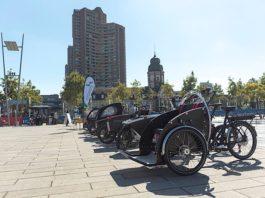 Cargobike Roadshow auf dem Alten Messplatz (Foto: Andreas Lörcher)