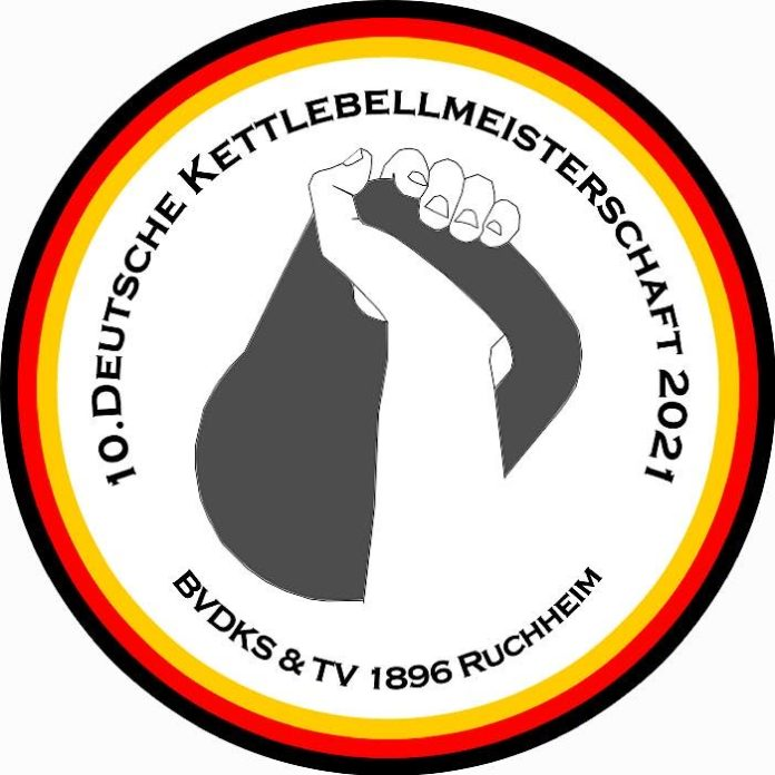 Logo 10. Deutsche Kettlebellmeisterschaft