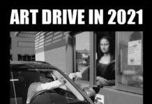"Plakat ""Art Drive In"""