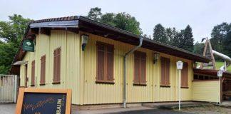 Neueröffnung am Samstag: die Gaststätte am Wild- und Wanderpark Silz. (Quelle: Wild- und Wanderpark)