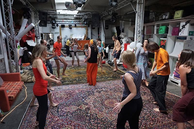 Summer of Love & Freedom Festival am Peer 23 in Mannheim (Foto: Michael Deichert)