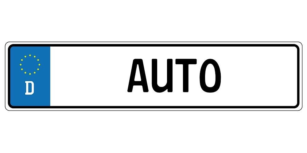 Symbolbild KFZ-Kennzeichen (Foto: Pixabay/Michael Schwarzenberger)