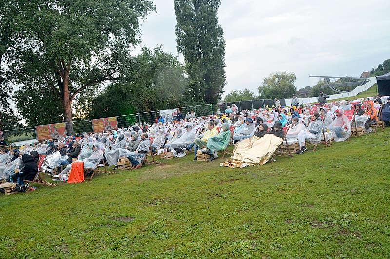 Faisal Kawusi am 27.08.21 in Ladenburg (Foto: LT)
