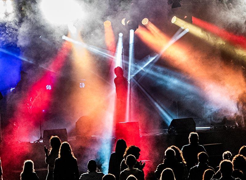 OPEN AIR Veranstaltung Eisenberg (Foto: Helmut Dell)