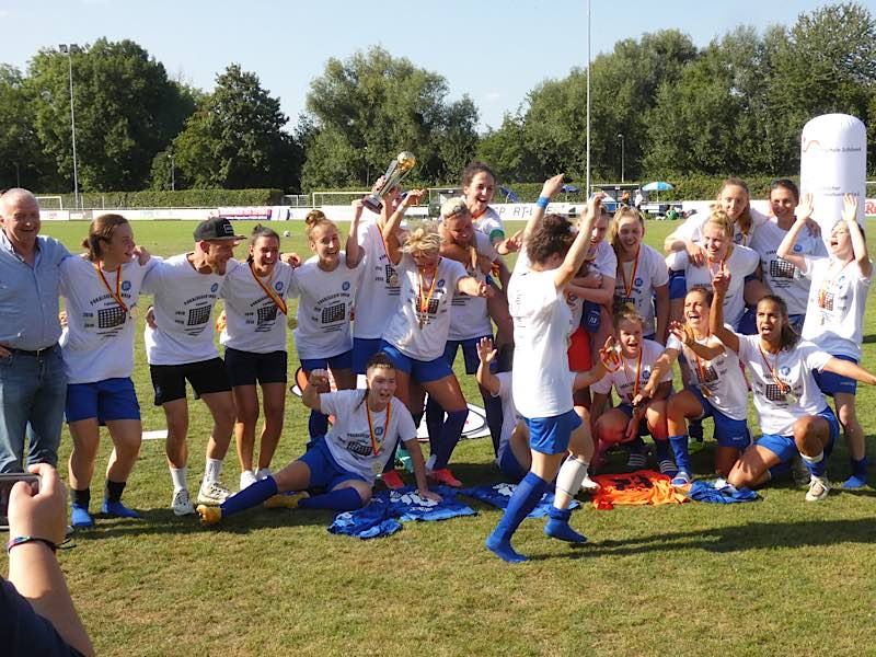 KSC gewinnt Pokal-Finale (Foto: Hannes Blank)