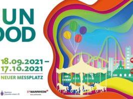 """Veranstaltungsplakat """"Fun & Food"""" (Quelle: Event & Promotion Mannheim GmbH)"""