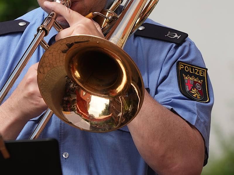 Musiker des Landespolizeiorchesters Rheinland-Pfalz (Foto: Holger Knecht)