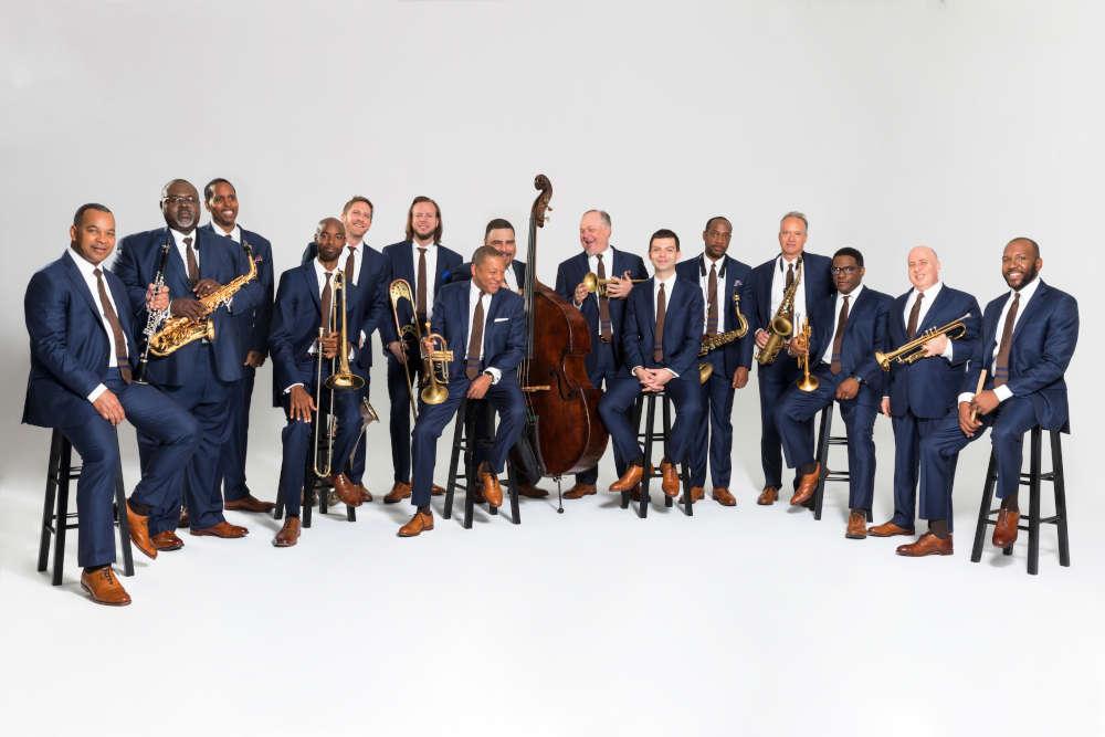 Wynton Marsalis und das Jazz at Lincoln Center Orchestra (Foto: Piper Ferguson)