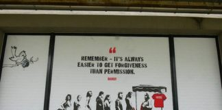 The Mystery of Banksy - Ausstellung in Heidelberg (Foto: Sarah Kohl)