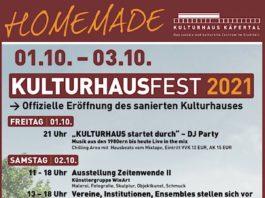 Kulturhausfest 2021