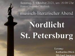"""""""Nordlicht St. Petersburg"""" im Kulturzentrum Herrenhof"""
