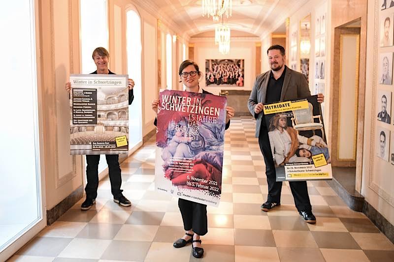 Die künstlerische Leitung: Holger Schultze, Ulrike Schumann, Thomas Böckstiegel (Foto: Susanne Reichardt)