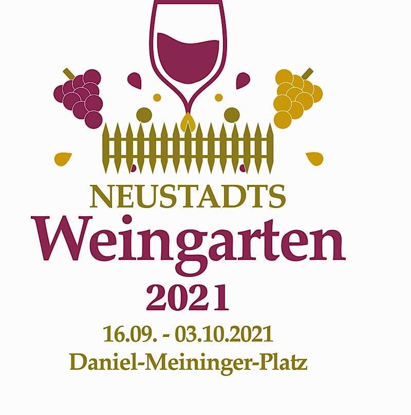 "Logo ""Neustadts Weingarten 2021"" (Quelle: Stadtverwaltung Neustadt)"