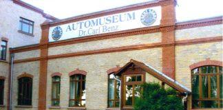 Benz Rennwagen vor dem Museum (Foto: Automuseum Dr. Carl Benz)