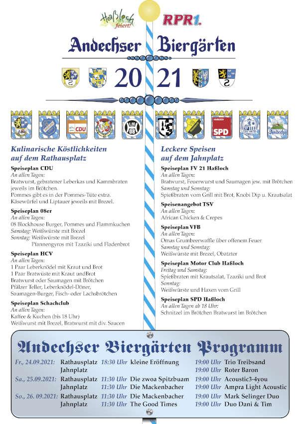 Der neue Flyer - AKTUELL (Foto: Gemeindeverwaltung Haßloch)