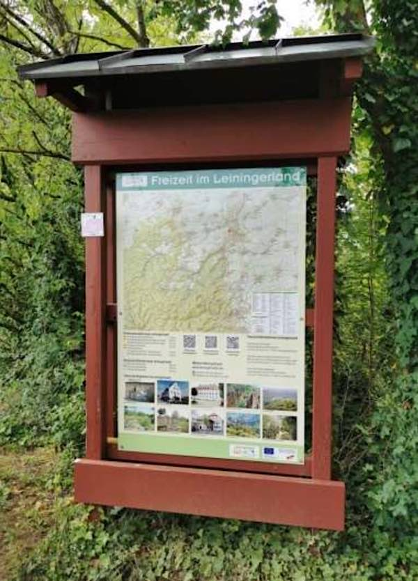 Informationstafel (Foto: Leiningerland. Das Tor zur Pfalz e.V.)