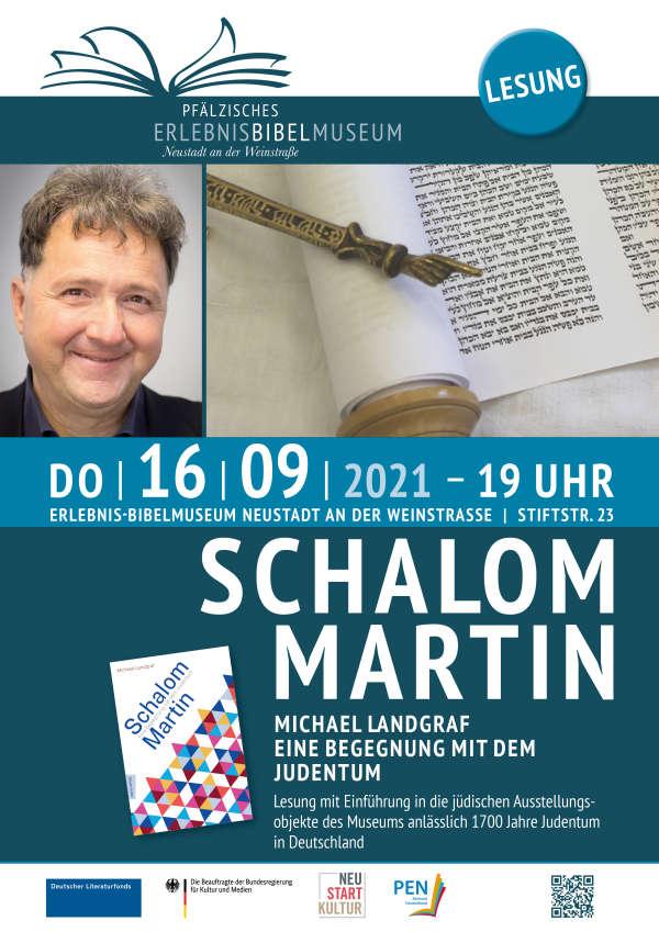 Plakat (Foto: Bibelmuseum Neustadt)