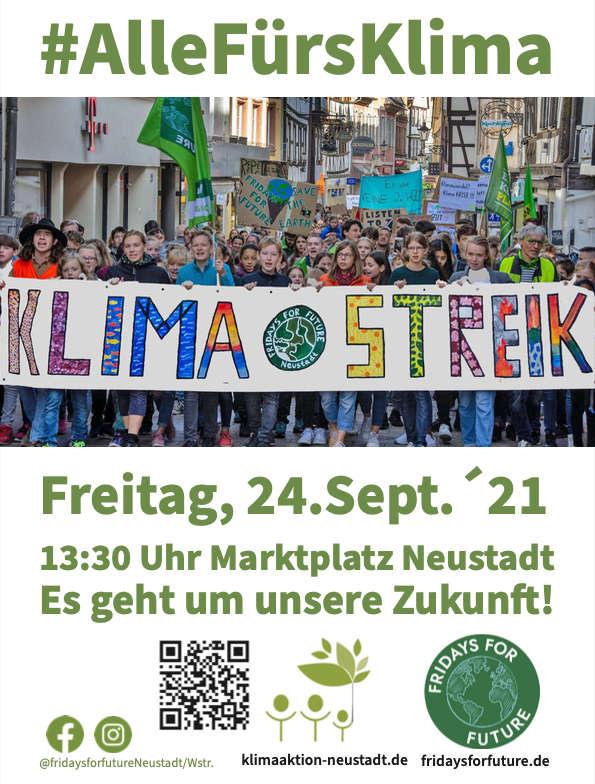 Klimastreik am 24.09.2021 (Quelle: FfF)