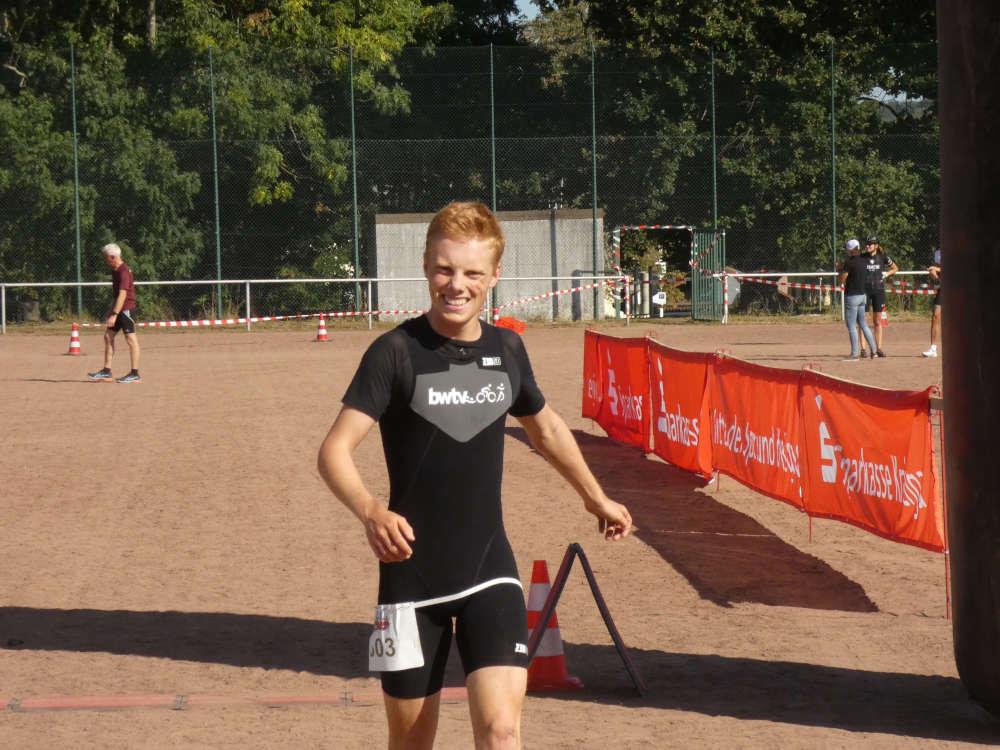 Sprintsieger Lukas Koser (Foto: Hannes Blank)