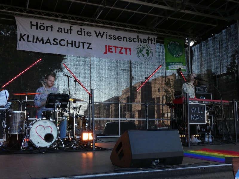 FfF-Demo in Karlsruhe (Foto: Hannes Blank)