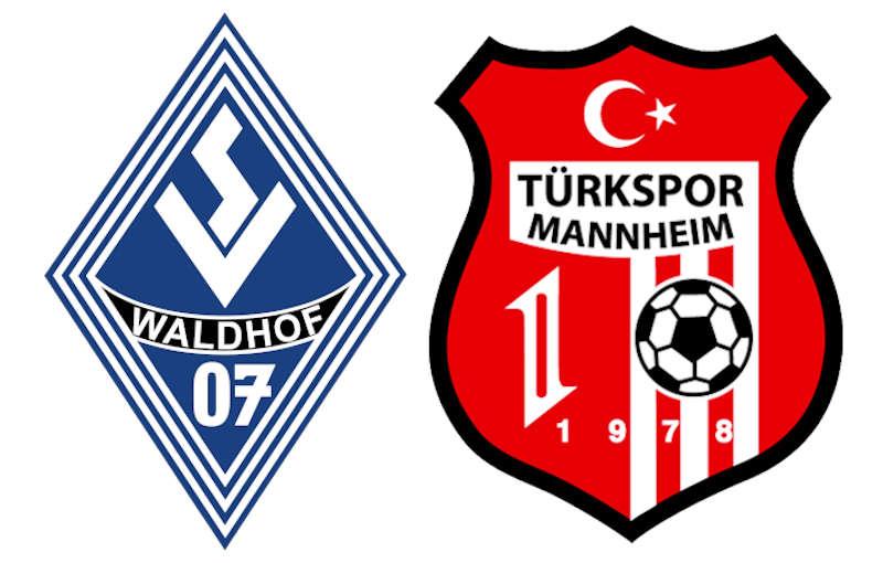 Logos SVW und Türkspor Mannheim