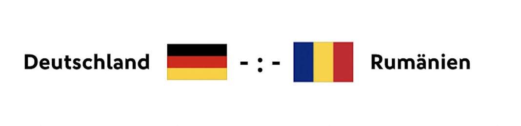 Deutschland - Rumänien