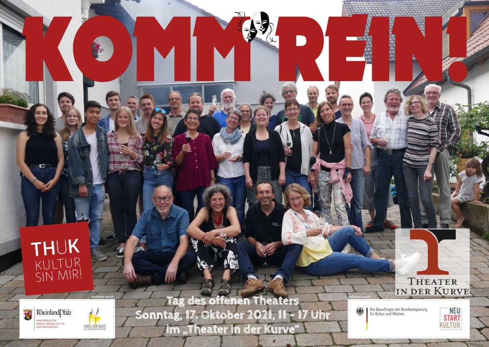 Veranstaltungshinweis (Quelle: Theater in der Kurve)