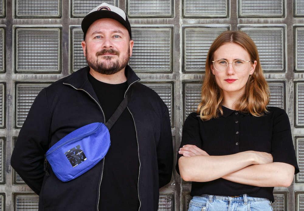 Sascha Hargesheimer und Lena Wontorra (Foto: Christian Kleiner)