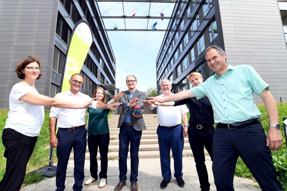 v.l.: Simon, Dr. Brechtel, Moritz, Dr. Jergentz, Ihlenfeld, Hartmann, Seefeldt (Foto: Karin Hiller)