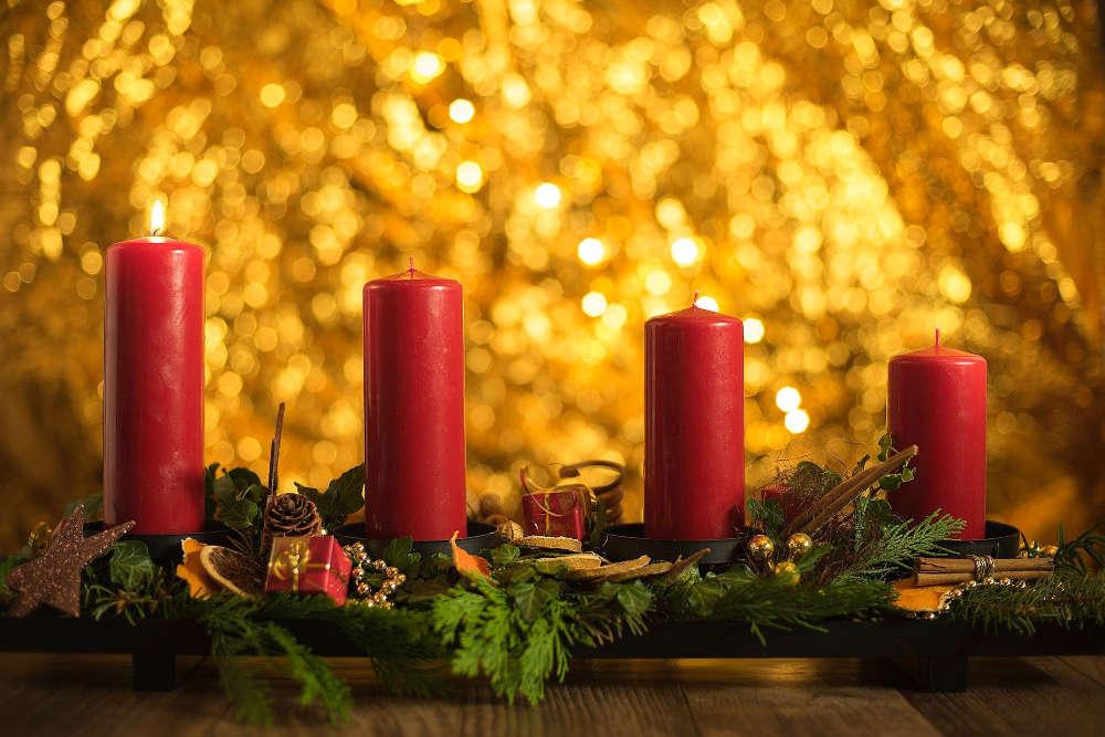 Symbolbild 1. Advent (Foto: Pixabay/Steven Kasa)